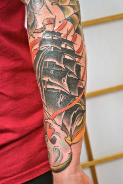 dynamic tattoo ro s ship by matt collins dynamic