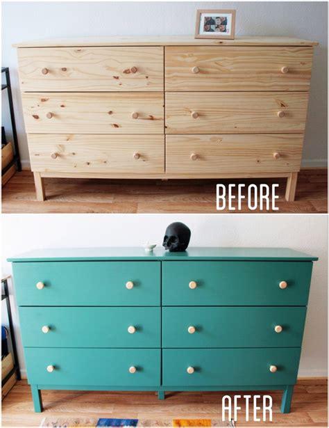 Repaint Dresser by Nette Dresser Painting Jade
