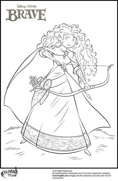 princess merida coloring page disney princess merida coloring pages minister coloring
