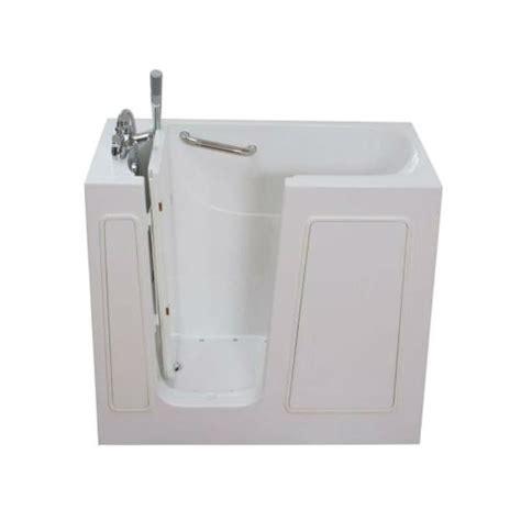 lowes walk in bathtub aquam spas aquam 4526 walk in air bath bathtub lowe s canada
