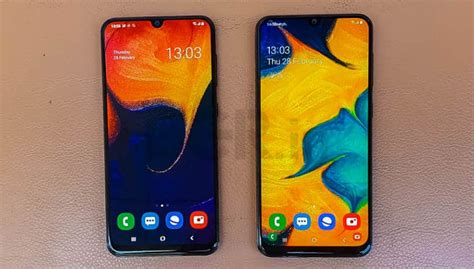 Samsung Galaxy A50 Front by Samsung Galaxy A30 Galaxy A50 Impressions Mid Rangers With Premium Features Bgr India