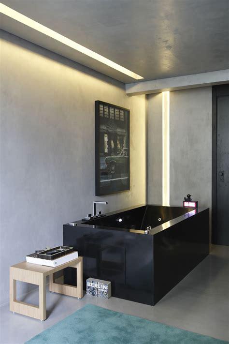 Modern Apartment Bathroom by Bathroom Of Modern Apartment With Three Dimensional Effect