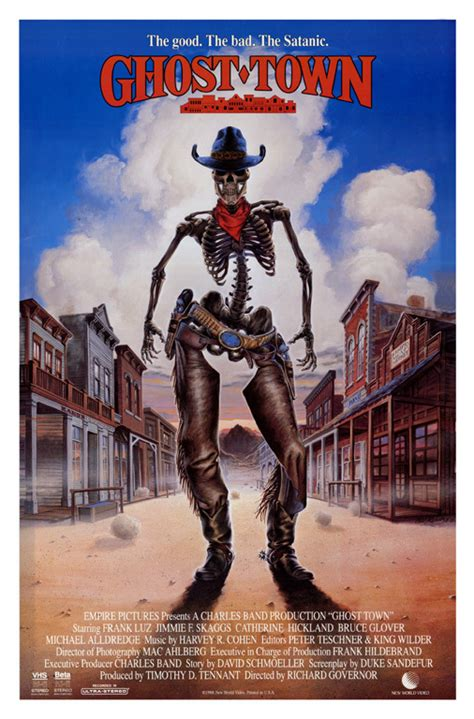 film ghost town ghost town movie poster by phil roberts phil roberts art