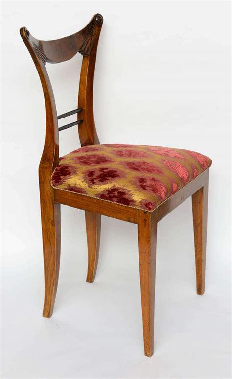 set of six biedermeier dining chairs josef danhauser