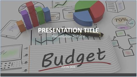 Budget Presentation Templates by Free Budget Powerpoint Template 7677 Sagefox Powerpoint