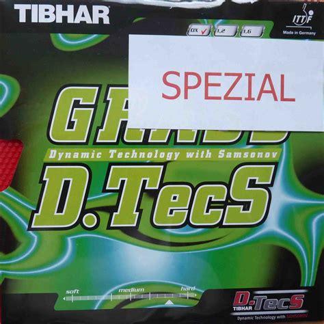 Tibhar Grass D Tecs Ox Black tibhar rubber grass d tecs spezial contra