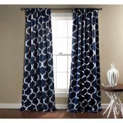 Lush decor geometric blackout curtain panel pair overstock