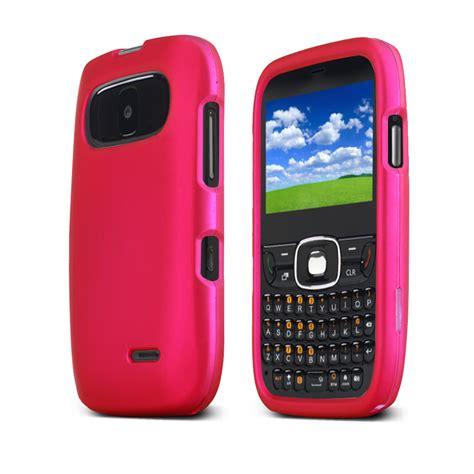 Hp Zte Overture zte z432 pink slim protective rubberized plastic cover ebay