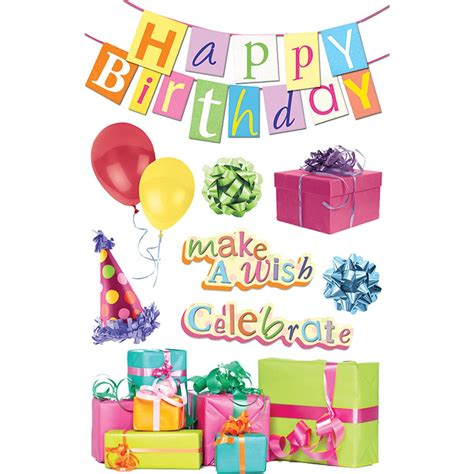 Kartu Ucapan 3d Timbul 4d Happy Birthday Gift Card Greeting Card paperhouse 3d happy birthday stickers hobbycraft