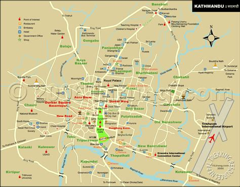 Ktm Road Map Map Of Kathmandu City Pictures To Pin On Pinsdaddy