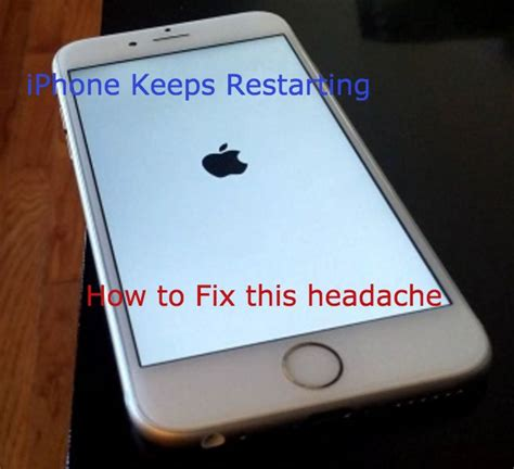 Iphone Keeps Restarting by Iphone Keeps Restarting How To Fix This Frustrating Problem Mobipicker