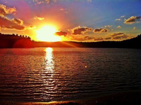 walden warming book walden pond at sunset henry david thoreau lived at