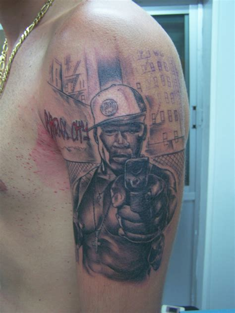50 cent tattoo 50 cent by tattooastur on deviantart