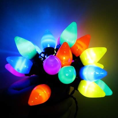 teardrop christmas lights vintage led battery lights