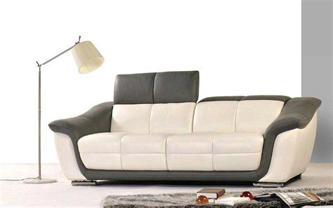 contemporary leather couch modern leather sofa set he66 leather sofas