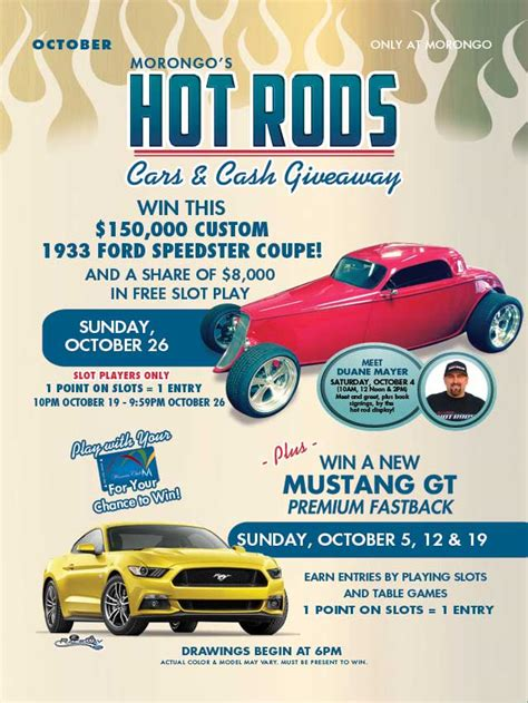 morongo casino will give away a 33 ford coupe to one lucky winner rod authority - Morongo Car Giveaway