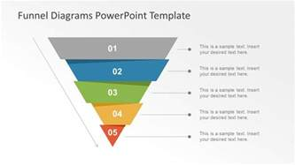 powerpoint template funnel template slide of funnel chart slidemodel