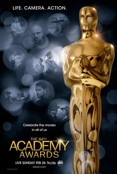 film oscar award movie on 84th academy awards poster