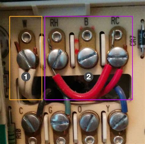 wiring diagram for a white rodgers thermostat 7741 diagram