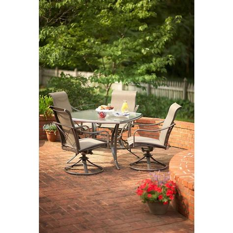 Martha Stewart Living Grand Bank 5 Piece Patio Dining Set Martha Stewart Patio Furniture Sets
