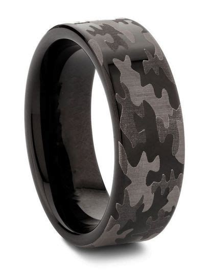 camo tattoo wedding rings engagement rings camo pictures to pin on pinterest