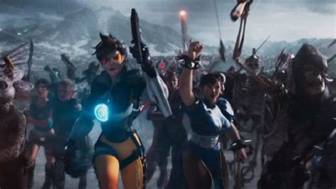 film tracers adalah jagoan overwatch dan street fighter mejeng di ready player