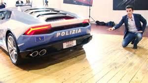Lamborghini Huracan Polizia Lamborghini Hurac 225 N Polizia Che Divisa E Sentite