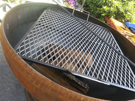 pit grill grates pit cooking grates large fireplace design ideas