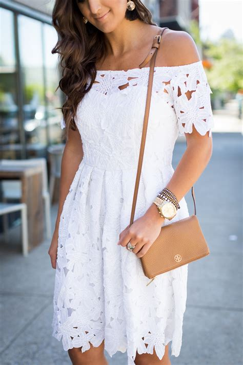 Tory Burch Home Decor by White Off The Shoulder Dress A Southern Drawl