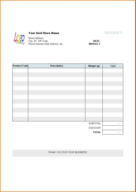 pages receipt template invoice template pages invoice exle