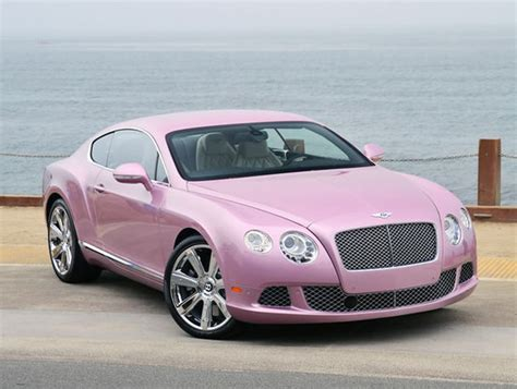 bentley car pink 2012 pink bentley continental gt coupe supports