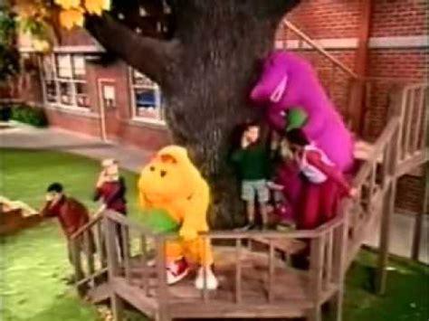 Barney The Backyard Show Part 1 Barney S Sense Sational Day Vcd Version Youtube