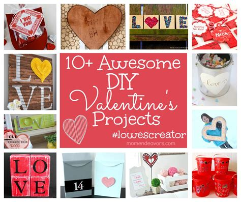 diy valentine gifts diy valentine s projects lowescreator