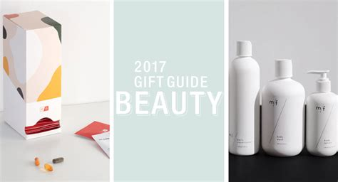 design milk gift guide 2017 gift guide health beauty design milk