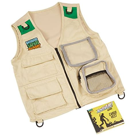 backyard safari vest backyard safari cargo vest for 19 49