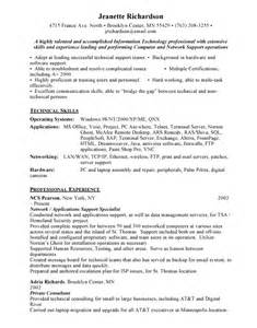 application support resume exles free resumes
