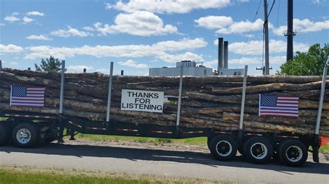 truck maine woods national monument supporters outnumber