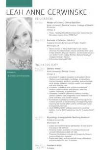 dietetic intern resume samples visualcv resume samples