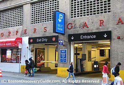 Parking Garages In Boston by Boston Parking Garages Near Theatre District Shows