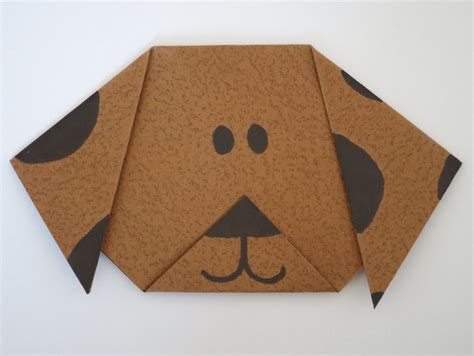 How To Make A Paper Puppy - how to make origami book covers