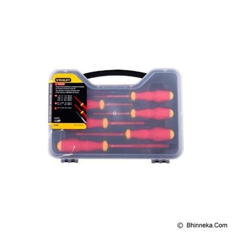Jual Obeng Set Stanley jual stanley vde screwdriver set with bonus 65 980 22 murah bhinneka