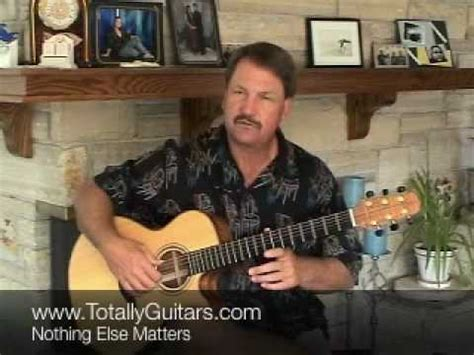 nothing else matters lesson learn metallica nothing else matters acoustic guitar