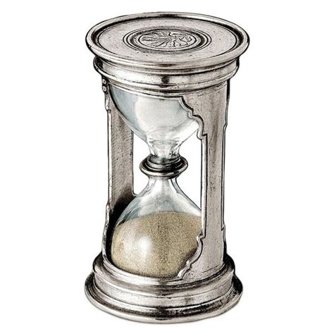 Handcrafted In Italy - pythagoras hourglass 12 cm height handcrafted in italy