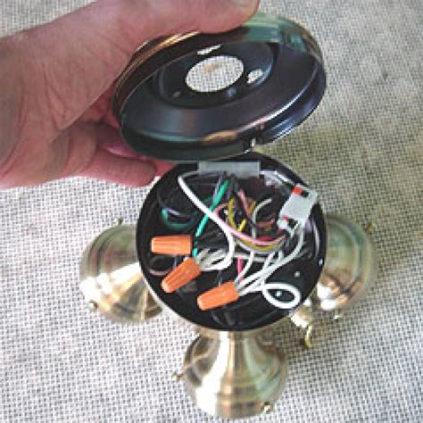 how to wire a ceiling fan with light how to change a ceiling fan light kit www energywarden net