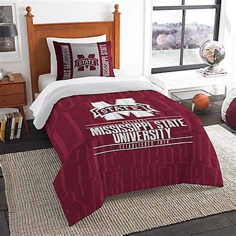 Bed Bath And Beyond State College by Mississippi State Modern Take Comforter Set