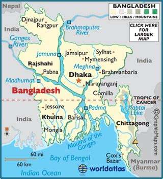 geographical map of bangladesh bangladesh map geography of bangladesh map of