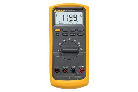 Multimeter Fluke 83 fluke 83v average responding industrial multimeter