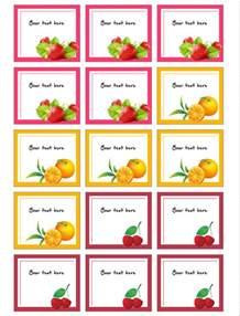 jam labels template jam label template free
