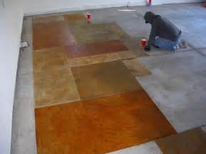 staining concrete floors do yourself myideasbedroom