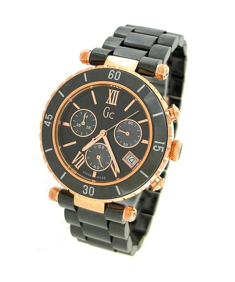 Gc Ceramic Chronograph Ring guess collection g47504m2 guess collection chronograph ceramic
